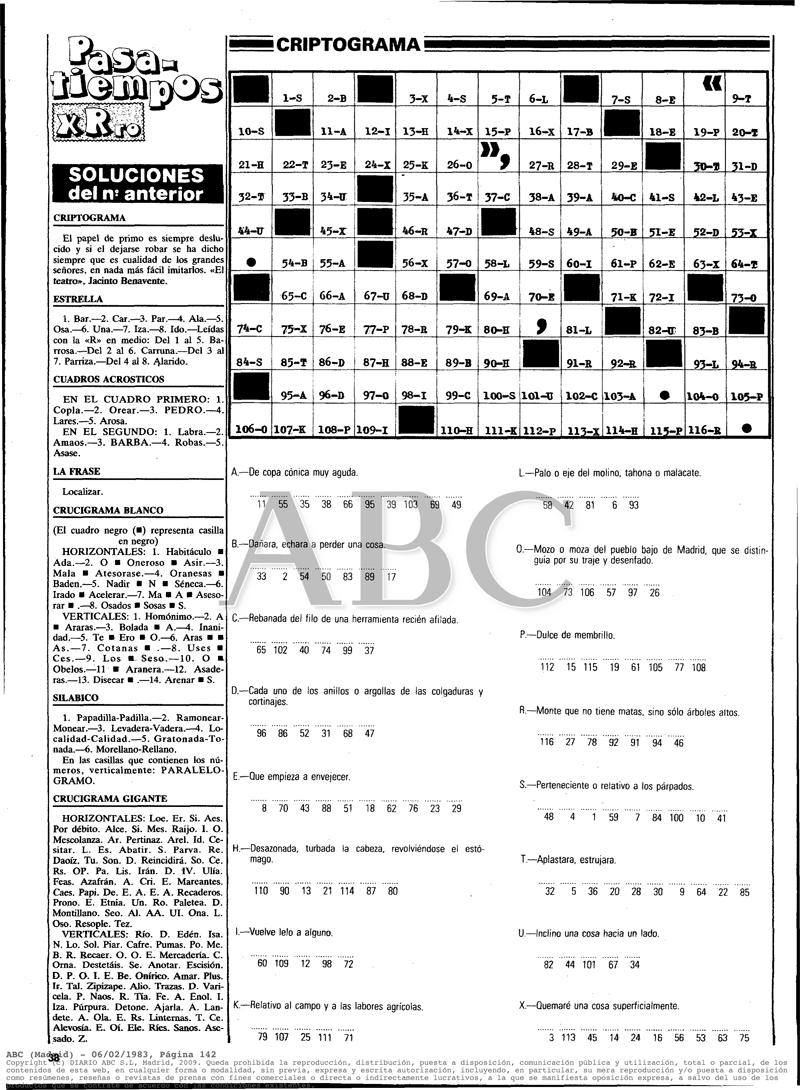1983 En Los Domingos de ABC